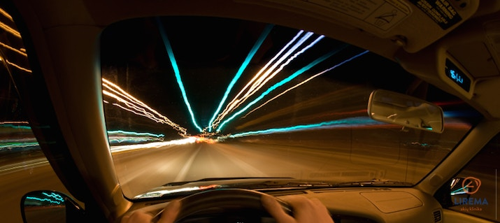 Regėjimas vairuojant naktį