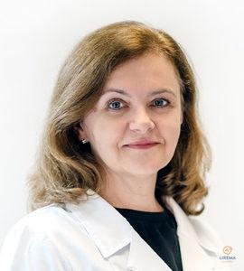 Akių ligų gydytoja – mikrochirurgė Dr.Loreta Kuzmienė, atliekanti akių operacijas Kauno Liremos akių klinikoje