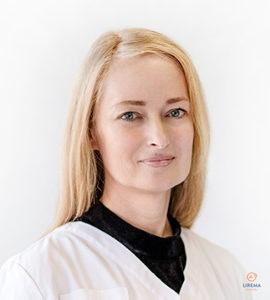 Akių ligų gydytoja – mikrochirurgė Ieva Sabonaitienė, atliekanti akių operacijas Klaipėdos Liremos akių klinikoje
