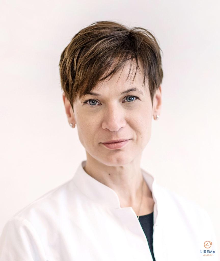 Akių gydytoja - mikrochirurgė Lina Socevicienė