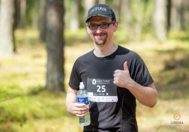 "Antanas Apinys ""Miško trasos"" bėgime"